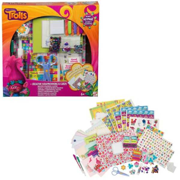 Dreamworks Trolls Creative Scrapbooking & Cards 6+ Years
